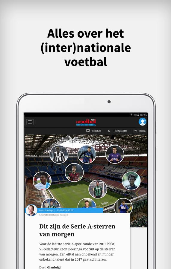 Voetbal International- screenshot