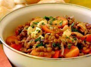 Warm Lentil Salad Recipe