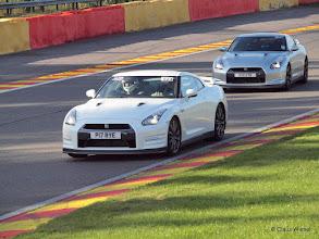 Photo: Circuit de SPA Francorchamps: Nissan GTR