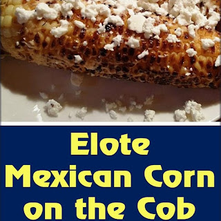 Elote Mexican Corn on the Cob Mexico Street Food.