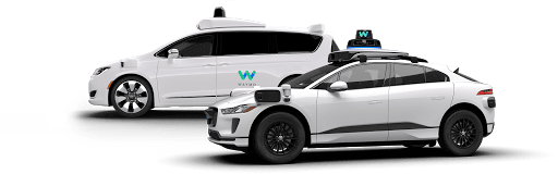 Waymo One vehicles