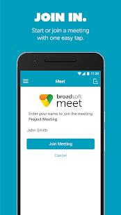 BroadSoft Meet - náhled