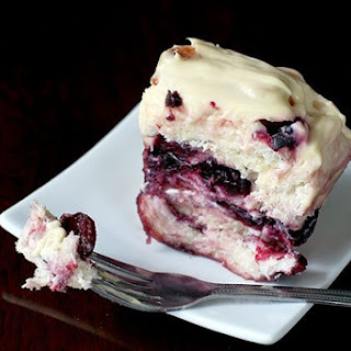 Cherry Cheesecake Pull Apart Loaf