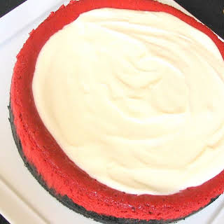 Luxe Red Velvet Cheesecake.