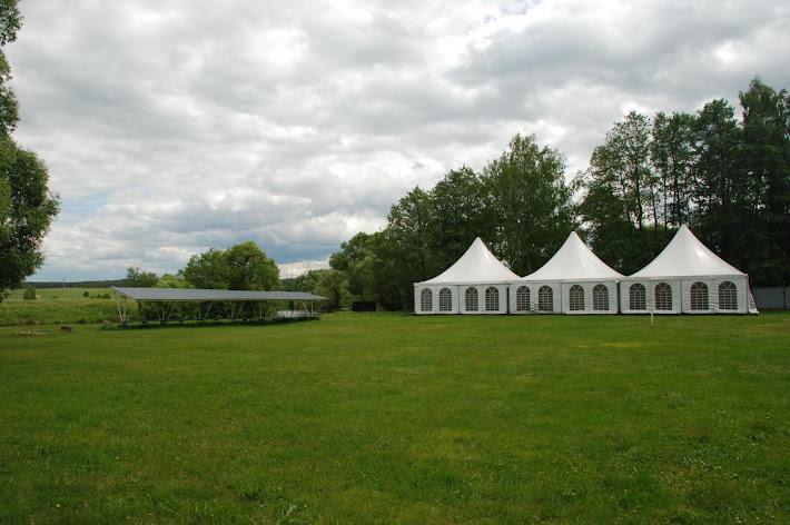 Фото №5 зала Большая поляна с банкетным шатром