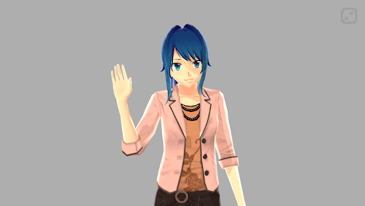 Anime Girl Pose 3D screenshot 16