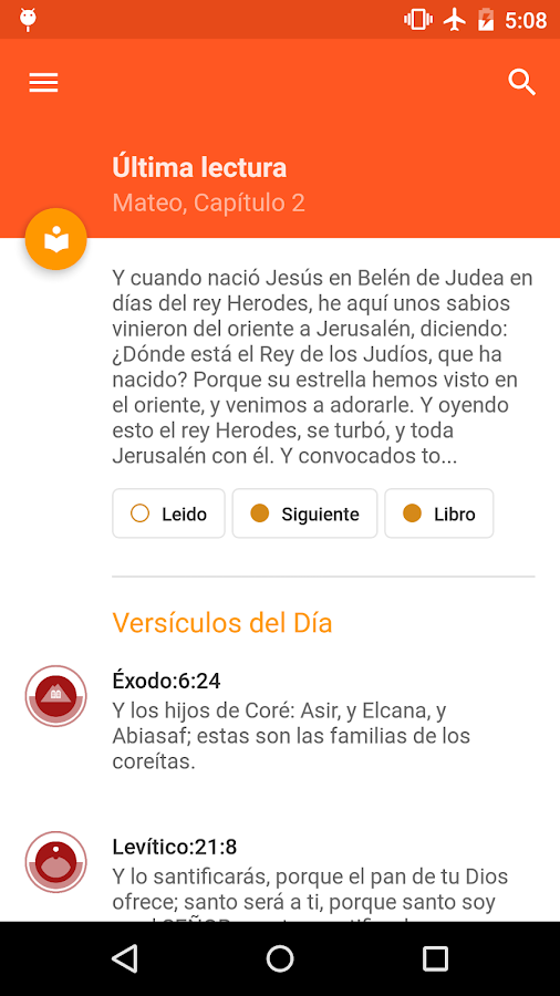 La Biblia Reina Valera - screenshot