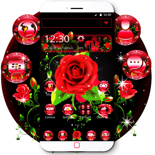 Red Rose theme