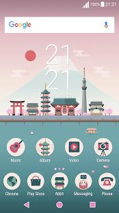 Japan ND Xperia Theme - náhled