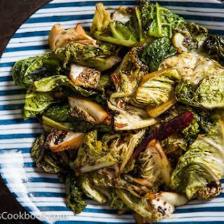 Chinese Vinaigrette Cabbage Stir Fry (醋溜卷心菜).