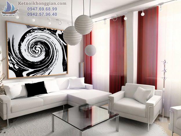 thiết kế nội thất nhà cho người mệnh kim