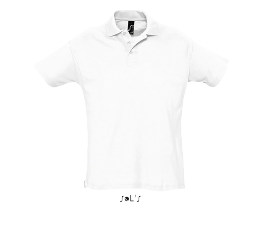 Polo shirt blanc