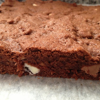 The Best Triple Chocolate Brownie