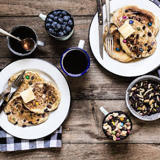 Trail Mix Pancakes.