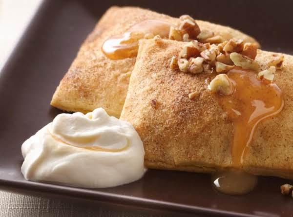Pumpkin Ravioli With Salted Caramel Whipped Cream Recipe