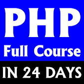 Learn PHP Full Course - PHP Learn to code php app