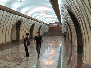 Photo: a subway station
