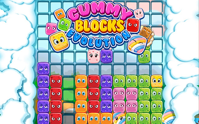 Gummy Blocks Evolution Game