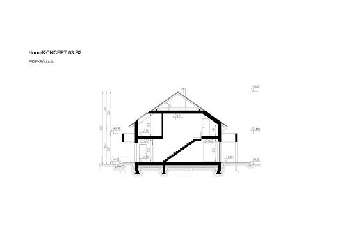 Koncept-63 B2 - Przekrój