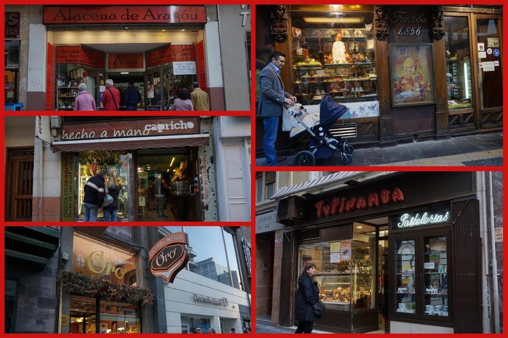 Disfrutar de la tradición chocolatera, una de las cosas que ver y hacer en Zaragoza
