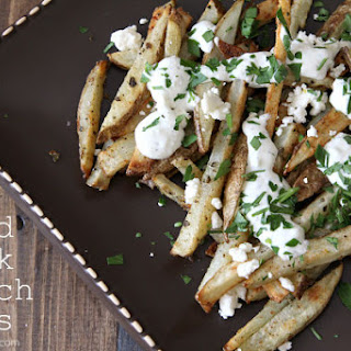 Baked Greek French Fries