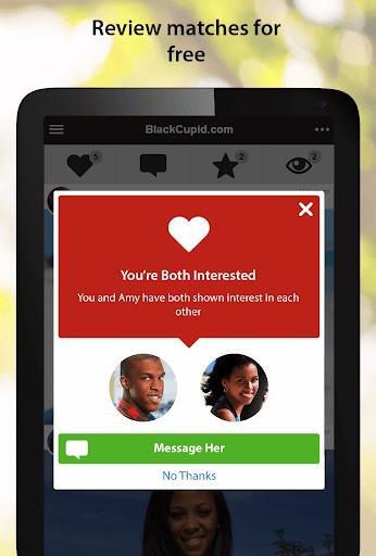 BlackCupid - Black Dating App 2.1.6.1557 screenshots 7