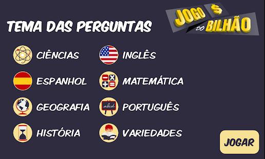 Jogo do Bilhão 2018 - náhled