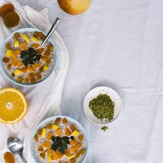 Warm Bulgur Breakfast Bowls.