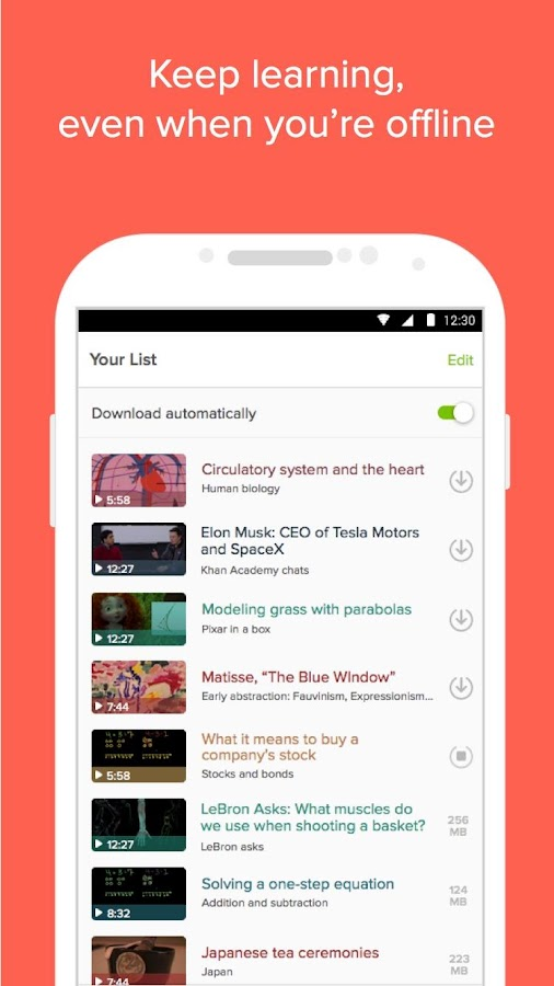 Khan Academy Android Apps On Google Play