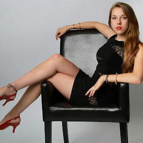 Amanda # 19 by Ryk Novaux - People Portraits of Women