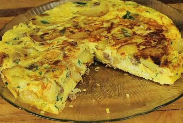 Vegetable Frittata With Chicken Garlic Sausage Recipe
