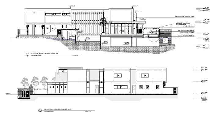 Casa f pons arquitectos tecno haus for Arquitectura de casas modernas planos