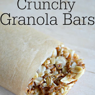 Crunchy Granola Bars.