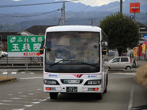 西鉄高速バス「フェニックス号」 9907 人吉インターにて_02