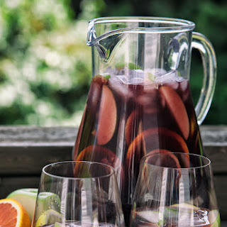 Traditional Red Sangria.