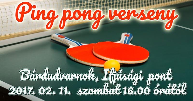 Ping pong verseny 2017.02.11