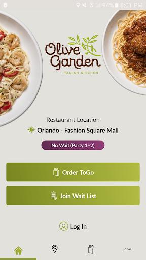 Olive Garden Italian Kitchen 2.1.0 screenshots 1