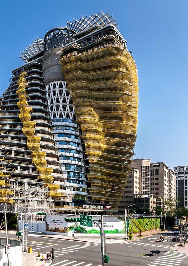 Tao Zhu Yin Yuan, green tower