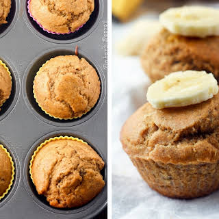 Coconut Oil Banana Muffins.