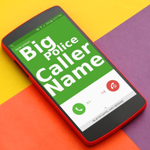 Full Screen Caller Name ID