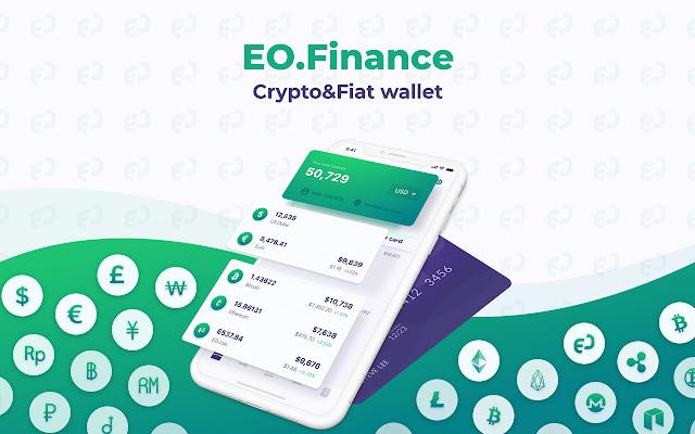 EO.Finance: Crypto & Fiat Wallet