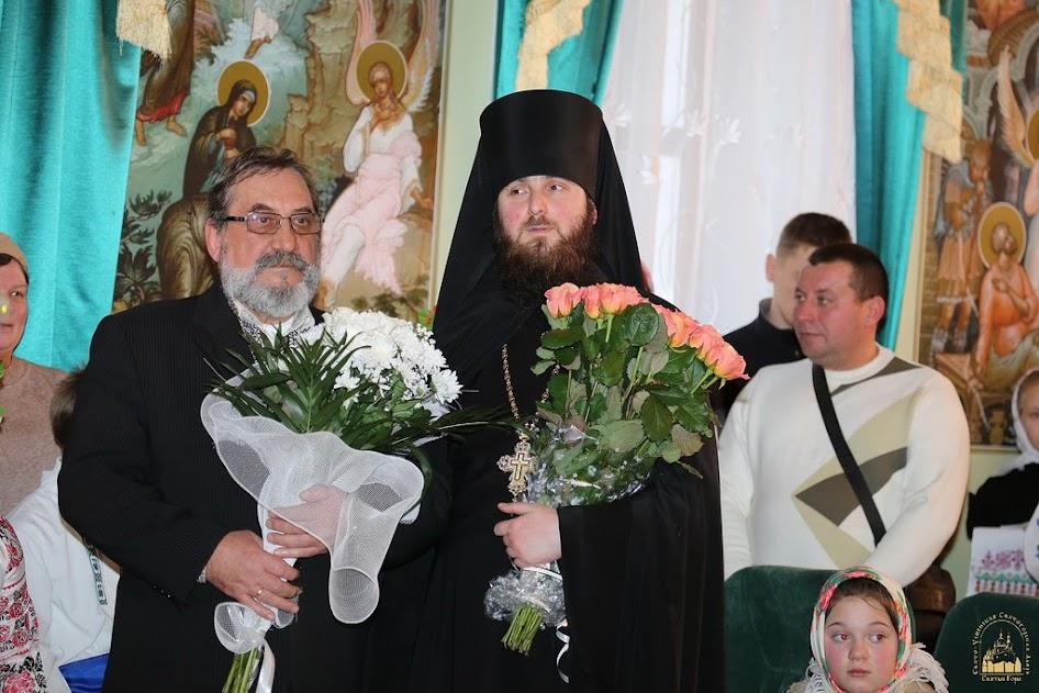 Привітання митрополита Святогірського Арсенія з Різдвом Христовим