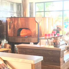 The wood fired pizza oven (copper oven)
