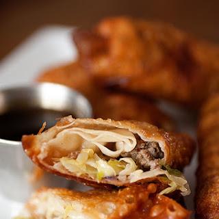 Sausage Egg Rolls