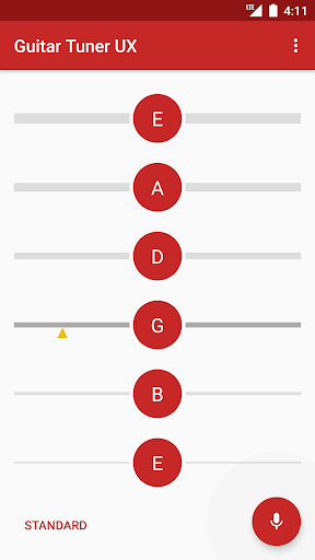 Guitar Tuner - Pro guitar tuning app 2.0.9 screenshots 3