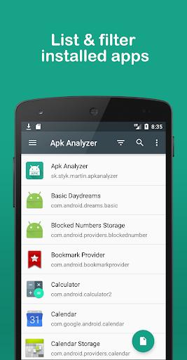 Apk Analyzer 2.6.1 screenshots 1