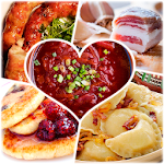 Ukrainian cuisine. Most popular recipes Icon