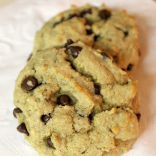 Almond & Banana Chocolate Chip Cookies