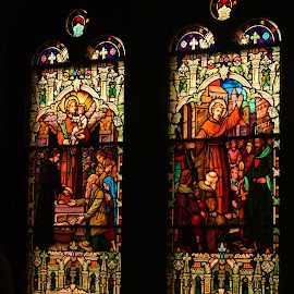 Stain glass by Brenda Shoemake - Buildings & Architecture Places of Worship