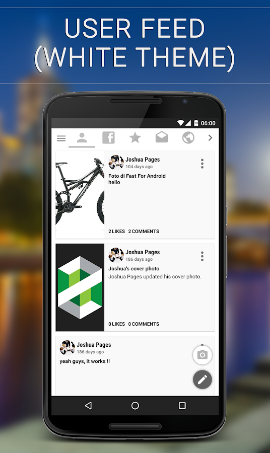 Fast (client for Facebook ©)- screenshot